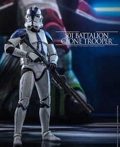 Deposit HOTTOYS HT 1/6th TMS022 501st Battalion Clone Trooper Figure Model Toys