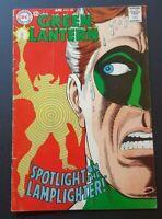 GREEN LANTERN 60 KEY! 1ST APP LAMPLIGHTER GIL KANE DC COMICS 1 9 6 8 VINTAGE