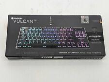 Roccat Vulcan TKL Compact Mechanical RGB Gaming Keyboard ROC-12-322 -J7549
