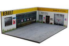 Diorama Renault Garage de la Plaine - 1/43ème - #43-3-d-h-r-001