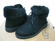 UGG QUINCY WOMEN ANKEL BOOTS SUEDE BLACK US 8.5 / UK 7 /EU 39.5 /JP 255
