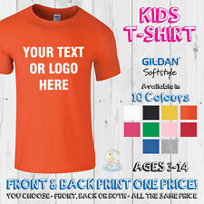 I/'m The Middle One Funny Boys Girls Kids T shirt Age 1-13