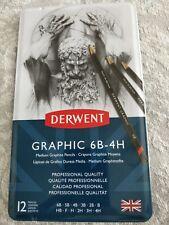Derwent graphic pencils 6b-4h
