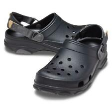 Crocs Classic all Terrain Clog Roomy Fit Unisex Sandal House Shoe 206340 Black