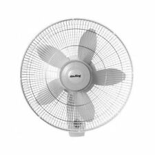 Wall Mount Fan Home Office Shop 3 Speed 18 Inch Oscillating Commercial Grade