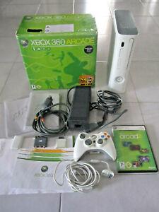 Console XBOX 360 ARCADE Jasper completa hdmi Boxed+ giochi