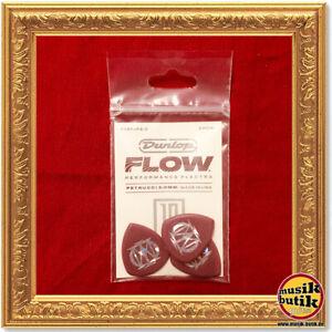 Dunlop John Petrucci Flow Picks, Player's Pack, 3 pcs., oxblood, 2.00 mm