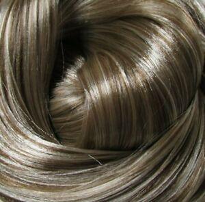 FROSTED BRUNETTE Synatra Fiber Doll Hair for Custom Reroots