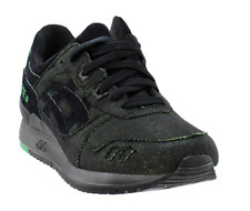ASICS Men's Gel-Lyte III Casual Sneakers, Green/Black