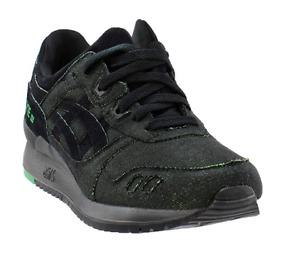 ASICS Men's Gel-Lyte III Casual Sneakers, Green/Black