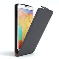 Tasche für Samsung Galaxy Note 3 Neo Flip Case Schutz Hülle Cover Anthrazit