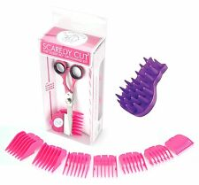 Scaredy Cut Silent Pet Clipper with KONG ZoomGroom, Cat Grooming Brush