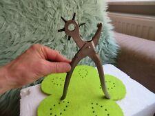 Lochzange für Ledergürtel verschiedene Loch Größen Werkzeug