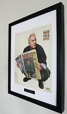 Sex Pistols-John Lydon-Framed Original NME-Plaque-Certificate-VERY RARE 60 Years