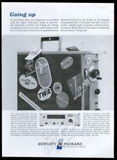 1965 TWA American Airlines Pan Am United etc logo Hewlett-Packard print ad