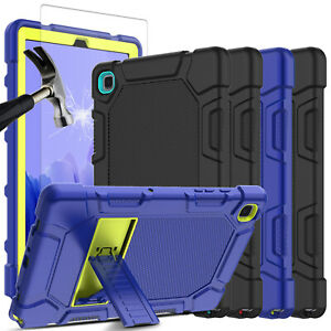 For Samsung Galaxy Tab A7 10.4 2020 Rugged TPU Stand Case Cover Screen Protector