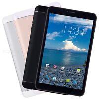 8'' inch Android Tablet PC 3G Dual Sim Quad Core 8GB Unlocked Phablet WIFI GPS