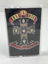 Guns N Roses Appetite For Destruction Cassette 1987 Welcome To The Jungle