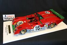 MG Model Plus (built kit resin) Ferrari 312 PB 1:12 #16 24h Le Mans 1973 (PJBB)
