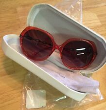 68b9279a7f Swarovski 59mm Oversized Marble White Sunglasses With Case