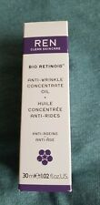 NEW REN Clean Skincare Face Bio Retinoid Anti-Wrinkle Concentrate Oil 30ml / 1.0