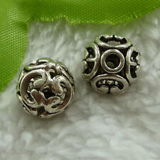 free ship 200 pieces tibet silver nice hollow spacer beads 12x10mm #2728