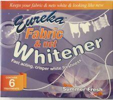 6 PACK OF EUREKA NET CURTAIN WHITENER FABRIC WHITENER SUMMER FRESH FAST ACTING