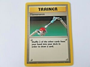 1999 Pokemon TRAINER Maintenance Base Set 83/102 Mint - Potential High Grade PSA