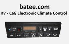 90-96 C68 AC Electronic Climate Control Repair Kit C4 Corvette Digital ECC B005