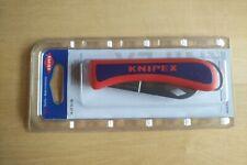 KNIPEX Elektriker Klappmesser Kabelmesser klappbar 16 20 50 SB 120mm 162050
