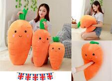 Uk Soft Pillow Cartoon Carrot Stuffed Plush Toy Cushion Doll Vegetable Xmas Gift