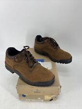 Men's Rockport XCS Vibram Sole Hiking Shoes Sneaker Brown Nubuck MLV41 Size 8 M