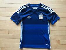 Adidas Argentina 2014 World Cup Soccer Jersey Youth Sz Large Futbol Blue