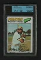 1977 Topps 460 Willie Stargell Signed autograph JSA coa HOF deceased pirates