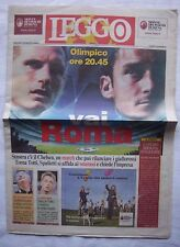 Orig.PRG   Champions League   2008/09    AS ROM - FC CHELSEA  !!  SELTEN