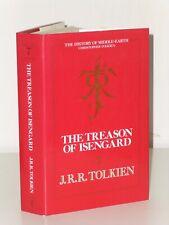 1st Stampa Il Treason Di Isengard J R Tolkien Unwin Hyman 1989 UK H/B Lotr