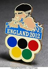 OLYMPIC PIN 2012 LONDON ENGLAND UK  SPORT OF SWIMMING BREASTSTROKE SWIMMER (G)
