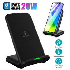 20W Fast Wireless Charger Charging for iPhone 12 Pro Max Mini Samsung S20 FE 5G