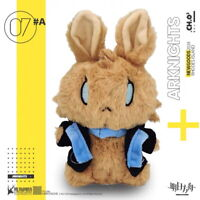 "Official Arknights Amiya Rabbit Ver. Bunny Mascot 8"" Plush Doll Toy - US SELLER"