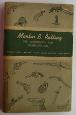 Catalog- Martin V Retting Antiques & Modern Guns, War Relics, Edged Weapons c.53