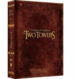 NEW DVD The Lord of the Rings The Two Towers 4 Disc Special Extended Editio 2003
