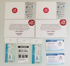 Lot of 9 New Mini Micro Fiber Cell Phone Tablet Computer Screen Cleaners