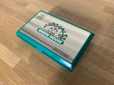 Nintendo Game and Watch Green House 1982 LCD Electronic Game - Superb!