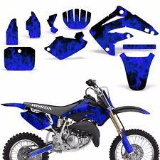 Decal Graphic Kit Honda MX CR85 Bike Sticker Wrap Backgrounds CR85 03-07 ICE BLU
