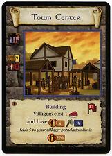 Town Center (4) - Age Of Empires ECG CCG Card (C96)