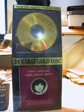 24K Gold CD DCC GZS-1040 Linda Ronstadt Greatest Hits, Vol. 1 Long Box Sealed