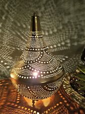 Rose Gold Egyptian Lamps, Moroccan Lamps, Arabic Aladdin Style Lamps Table Top