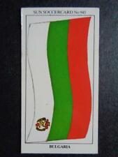 The Sun Soccercards 1978-79 - Bulgaria - Flag of Bulgaria #945
