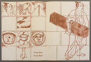 LARRY RIVERS lithographs 1967 IN MEMORY OF MY FEELINGS Frank O'Hara MOMA