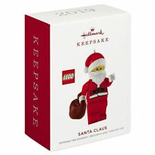HALLMARK 2019 LEGO SANTA CLAUS ORNAMENT
